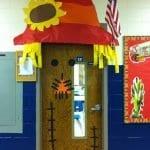 Sınıf Kapı Süsleme Örnekleri 75