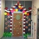 Sınıf Kapı Süsleme Örnekleri 80