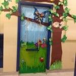 Sınıf Kapı Süsleme Örnekleri 84