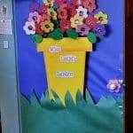 Sınıf Kapı Süsleme Örnekleri 86