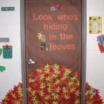 Sınıf Kapı Süsleme Örnekleri 89
