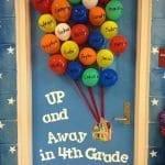 Sınıf Kapı Süsleme Örnekleri 96