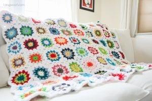 Derya Baykal Tığ İşi Battaniye Modelleri