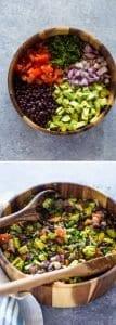 Videolu, Avokadolu Siyah Fasulye Salatası