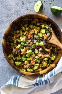 Videolu, Avokadolu Siyah Fasulye Salatası 2