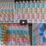 Videolu, Tığ İşi Battaniye Modeli ve Yapımı Anlatımlı
