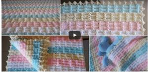 Tığ İşi Battaniye Modeli ve Yapımı Video Anlatımlı