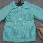 Videolu, Yakadan Başlama Erkek Bebek Hırkası Nasıl Örülür?
