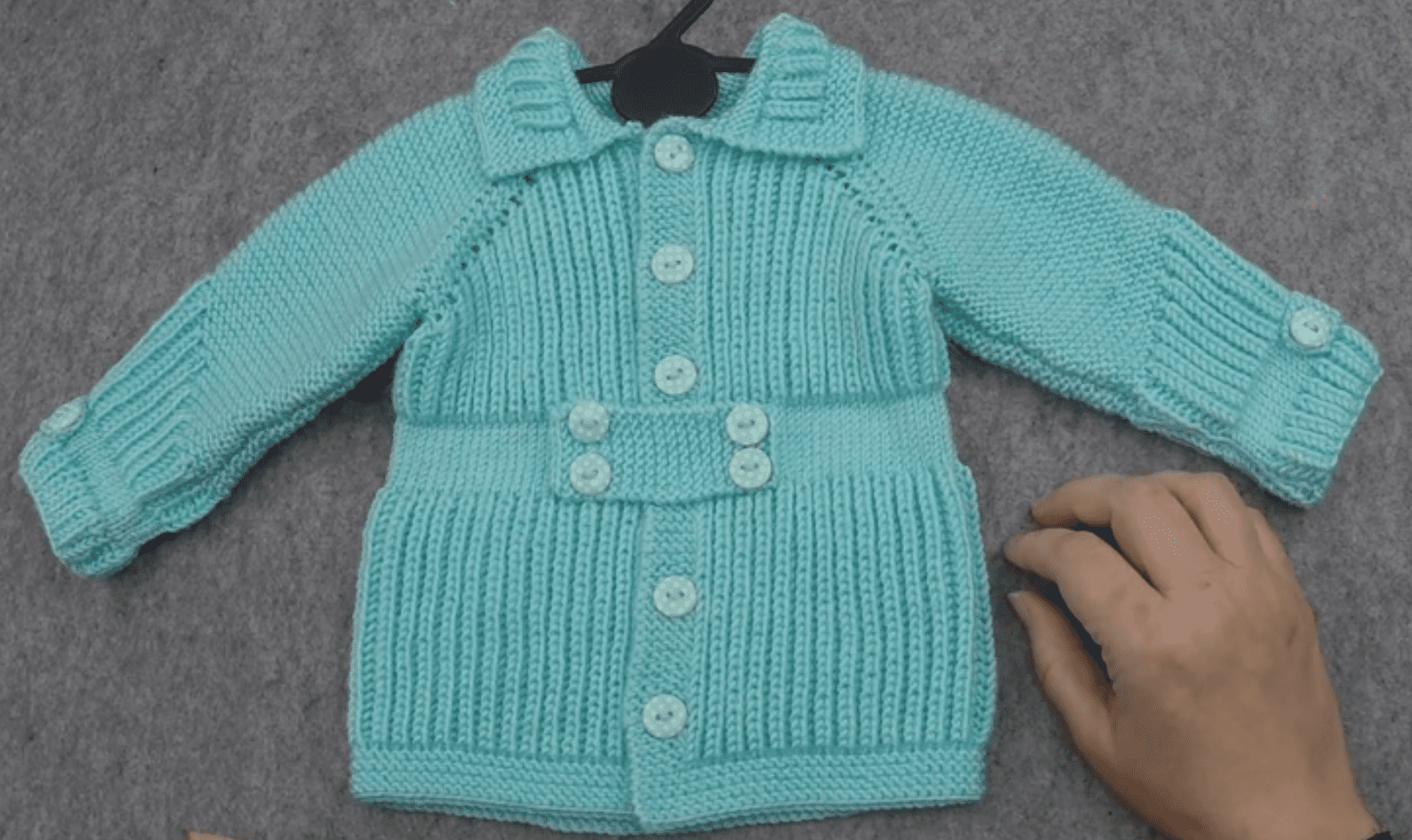 Selanik Bebek Hırka Modeli Yapılışı