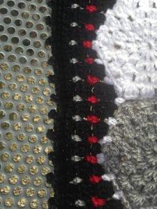 Altıgen Motifli Battaniye Yapımı 9