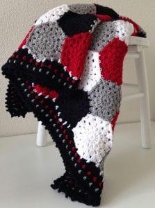 Altıgen Motifli Battaniye Yapımı 11