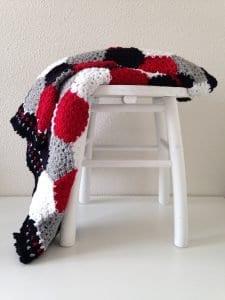 Altıgen Motifli Battaniye Yapımı 13