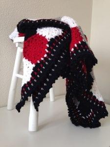 Altıgen Motifli Battaniye Yapımı 14