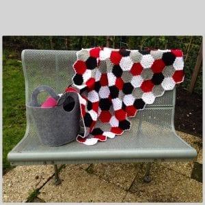 Altıgen Motifli Battaniye Yapımı