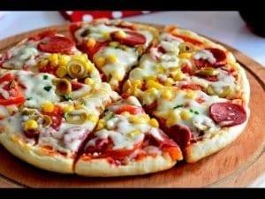 Bazlamadan Pratik Pizza 1