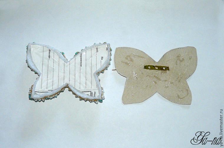 Boncuktan Kelebek Broş Yapımı 29