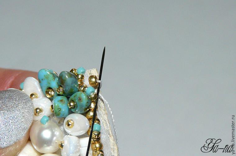 Boncuktan Kelebek Broş Yapımı 34