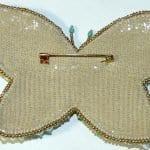 Boncuktan Kelebek Broş Yapımı 38