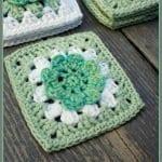 Çiçek Motifli Battaniye Nasıl Yapılır? 12