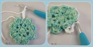 Çiçek Motifli Battaniye Nasıl Yapılır? 6