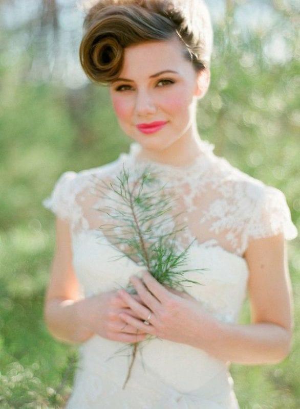 Düğün Kısa Saç Modelleri 13