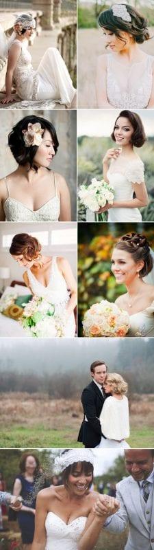 Düğün Kısa Saç Modelleri 14