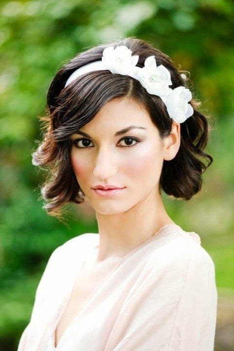 Düğün Kısa Saç Modelleri 5