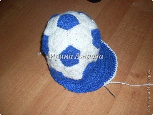 Futbol Topu Şeklinde Şapka Yapılışı 12