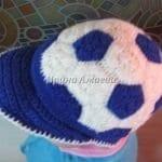 Futbol Topu Şeklinde Şapka Yapılışı 14