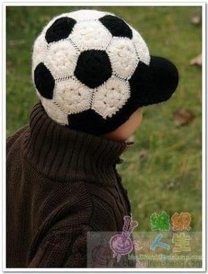 Futbol Topu Şeklinde Şapka Yapılışı