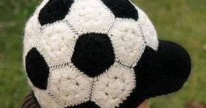 Futbol Topu Şeklinde Şapka Yapılışı 4