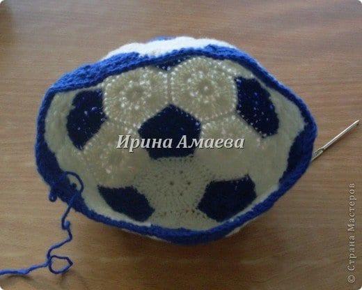 Futbol Topu Şeklinde Şapka Yapılışı 8