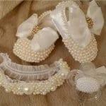 İncili Bebek Ayakkabısı Nasıl Yapılır? 44