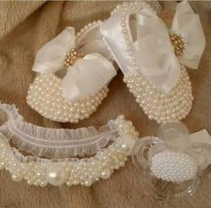 İncili Bebek Ayakkabısı Nasıl Yapılır?