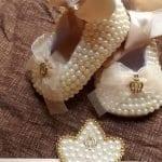 İncili Bebek Ayakkabısı Nasıl Yapılır? 55