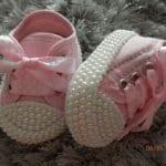 İncili Bebek Ayakkabısı Nasıl Yapılır? 56
