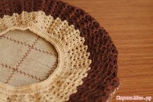 Kumaşlı Örgü Şapka Yapımı 15