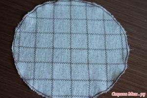 Kumaşlı Örgü Şapka Yapımı 7