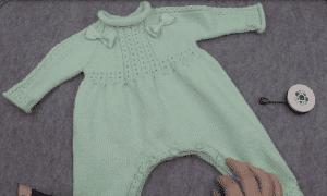 Örgü Bebek Tulumları Anlatımlı Yapılışı
