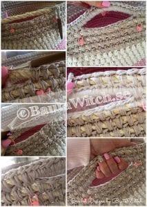 Penye İpten Çamaşır Sepeti Yapımı 8