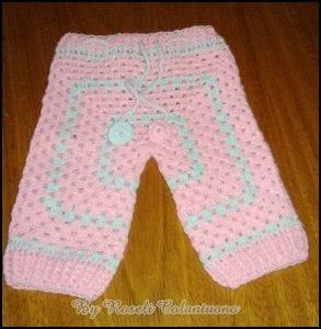 Sekizgen Bebek Pantolonu Yapımı 12