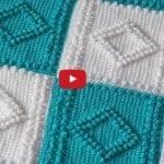 Tunus İşi Battaniye Yapılışı Anlatımlı, Videolu