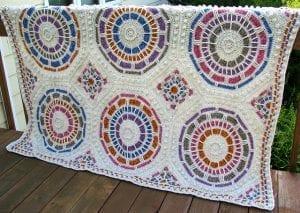 Videolu, Mozaik Battaniye Nasıl Yapılır ? 4