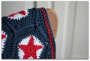 Yıldız Motifli Battaniye Nasıl Yapılır? 10