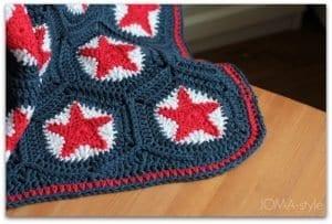 Yıldız Motifli Battaniye Nasıl Yapılır? 11