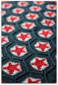 Yıldız Motifli Battaniye Nasıl Yapılır? 1