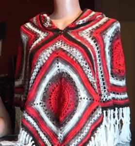 Bayan Örgü Panço Modelleri ve Yapılışı