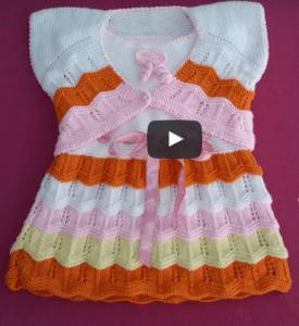 Bebek Örgü Elbise Modelleri ve Yapılışları