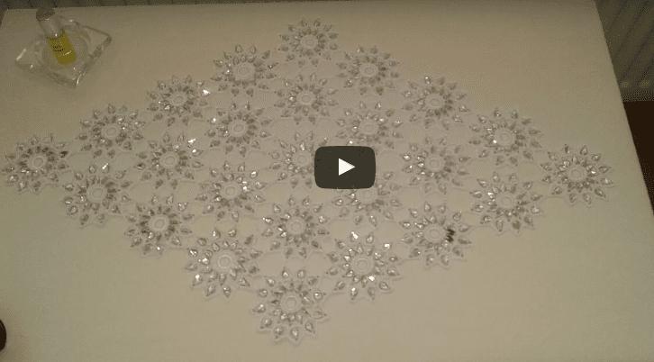 Metre Boncukla Oda Takımı Yapılışı Anlatımlı Videolu