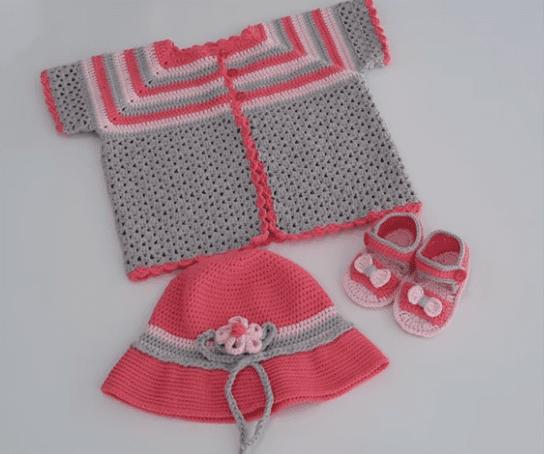Tığ Bebek Yelek Modelleri